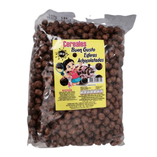cereal bolitas de chocolate