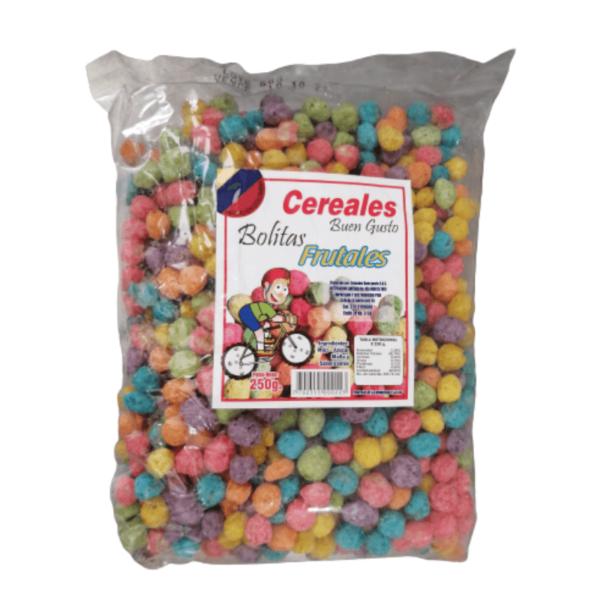 cereal bolitas frutales