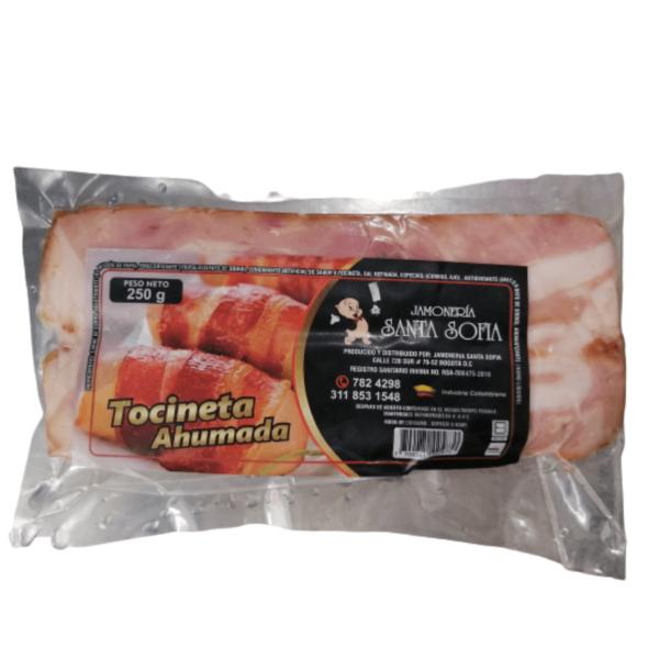 tocineta ahumada de cerdo